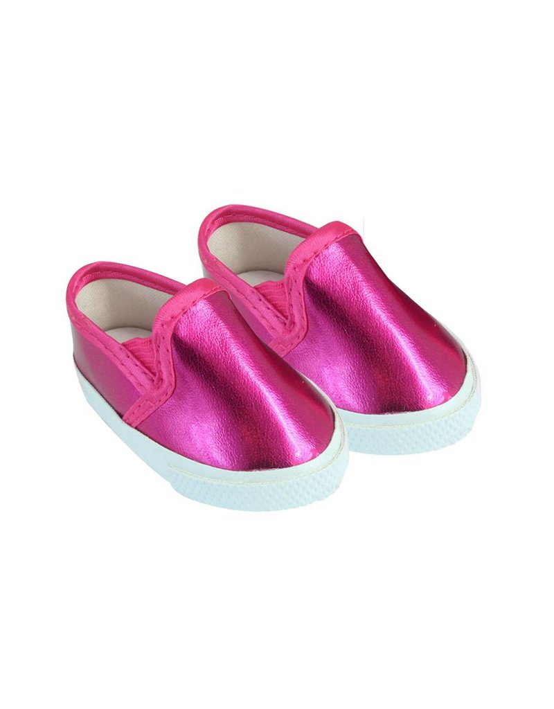 Doll Hot Pink Slip On Sneakers