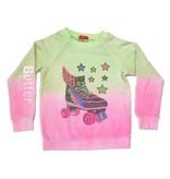 Butter Sneaker Dip-Dye Pullover Sweatshirt