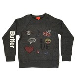 Butter Patches Pullover Sweatshirt