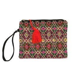 Multi-Color Embellished Clutch