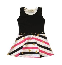 Les Tout Petits Heart Stripe Dress