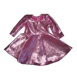 Doll Pink Velvet Dress