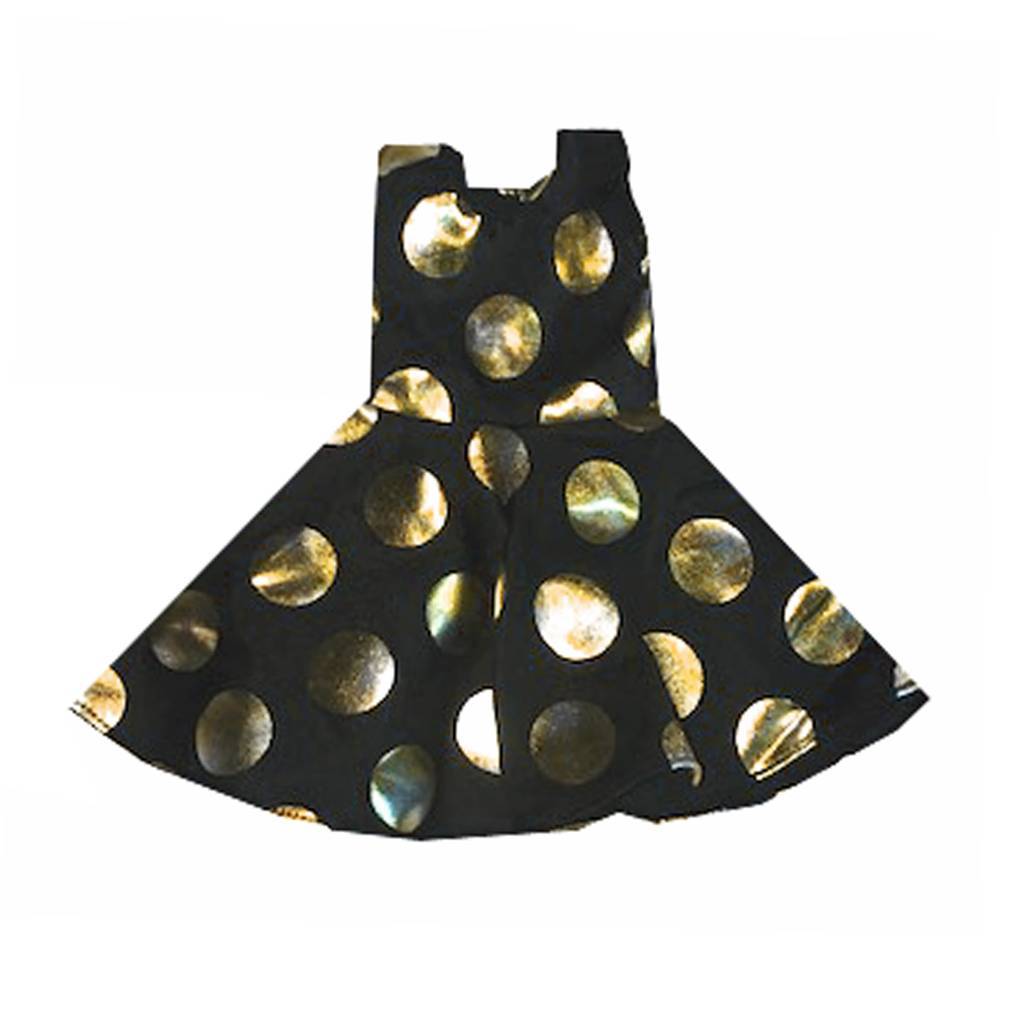 Doll Gold Dot Tank Dress