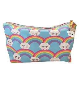 Malibu Sugar Rainbow Clouds Cosmetic Bag