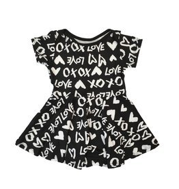 Social Butterfly XOXO Skater Dress