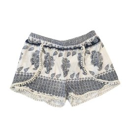 Flowers by Zoe Paisley Pom Pom Shorts