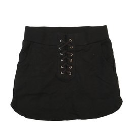 Flowers by Zoe Lace Up Sweat Skirt