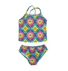 Coral Reef Rainbow Diamond Tankini