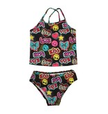 Coral Reef Emoji Love Infant Tankini
