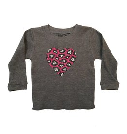 Small Change Leopard Heart Thermal