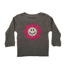 Small Change Glitter Flower Thermal