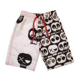 Wes & Willy Digital Skull Swimsuit