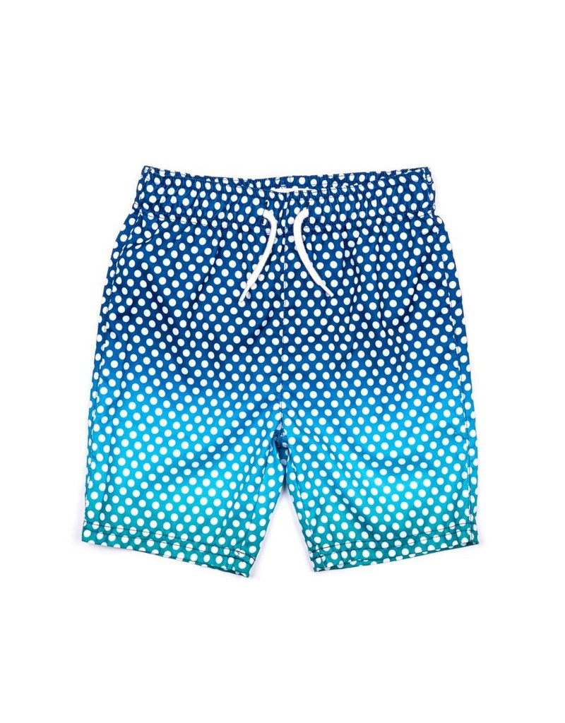 Appaman Teal Dots Infant Swimsuit