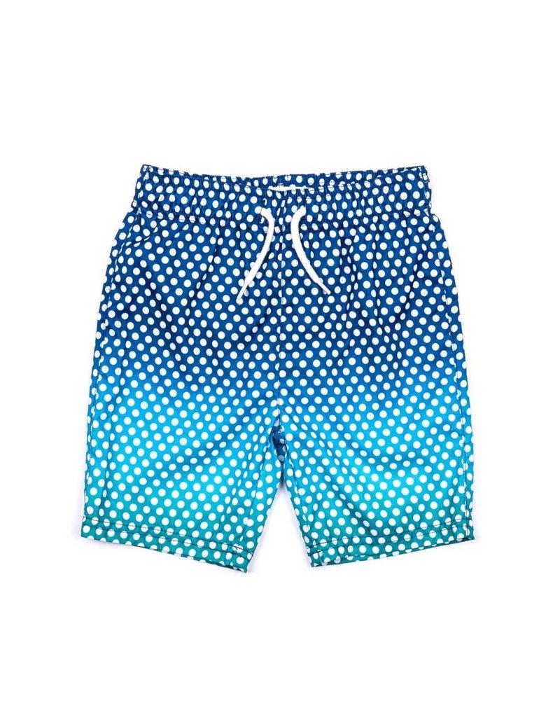 Appaman Teal Dots Swimsuit