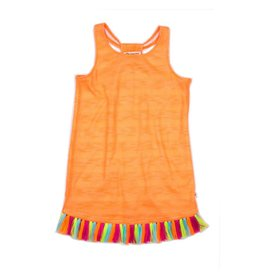 Appaman Neon Fringe Dress