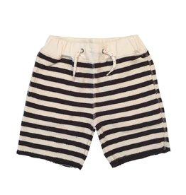 Appaman Navy Stripe Sweat Short
