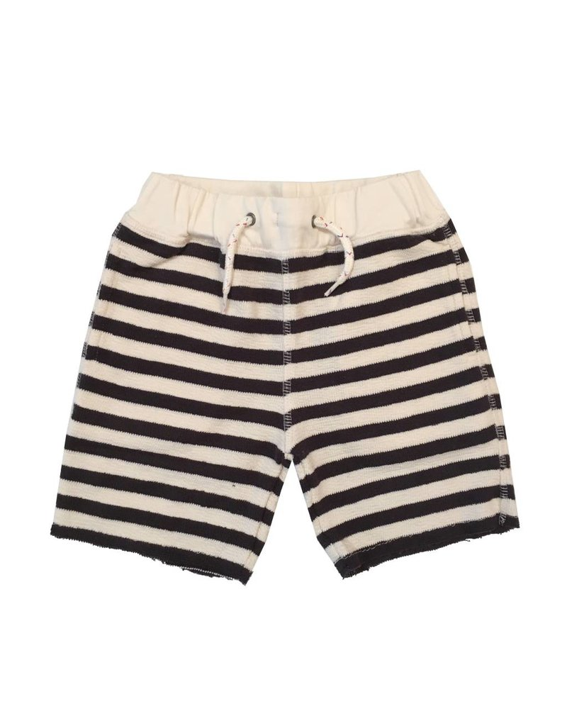 Appaman Navy Stripe Sweat Short