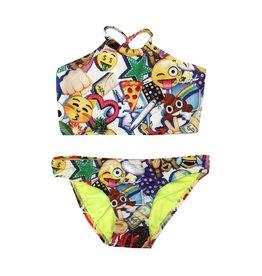 Terez 100% Emoji High Neck Bikini