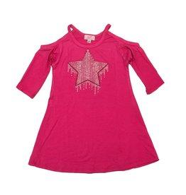 Sofi Star Cold Shoulder Dress