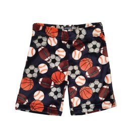 Sovereign Sports Print Plush Shorts