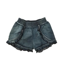 Flowers by Zoe Denim Ruffle Short