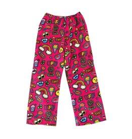 Confetti Patches Plush Pants