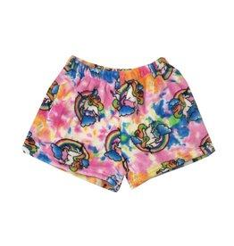Confetti Unicorn Plush Shorts