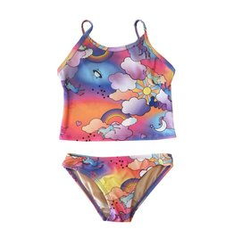 Cruz Rainbow Unicorn Tankini