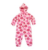 Chamor XOXO Lips Plush Onesie