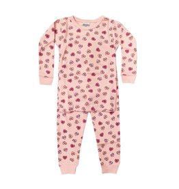 Baby Steps Candy Hearts PJ Set