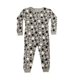 Baby Steps Black Stars PJ Set