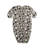 Baby Steps Black Stars Convertible Gown