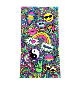 Confetti Paisley Camp Beach Towel
