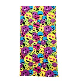 Confetti Rainbow Emoij Beach Towel