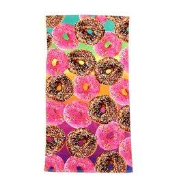 Confetti Donuts Beach Towel
