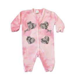 Babykakes Grey Damask Outfit
