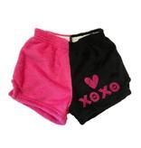Chamor Glitter XOXO Shorts