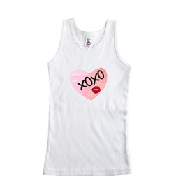 Chamor XOXO Heart Patch Tank