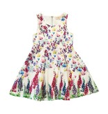Baby Sara Floral Pleated Dress