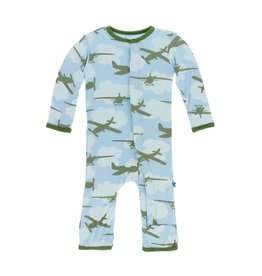 Kickee Pants Airplanes Coverall