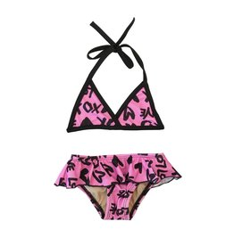 Cruz XO Triangle Ruffle Infant Bikini
