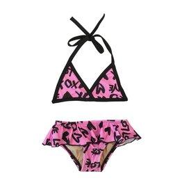 Cruz XO Triangle Ruffle Bikini