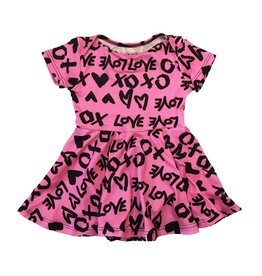 Social Butterfly  XOXO Infant Skater Dress