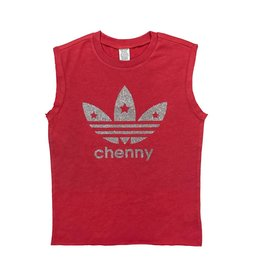Custom Camp Red Star Logo Tank