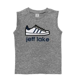 Custom Camp Blue Sneaker Tank