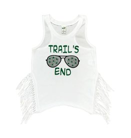 Custom Camp Green Sunglasses Tank