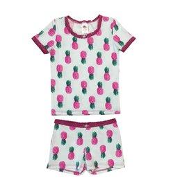 Esme Pinapples Pajama Short Set
