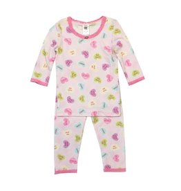 Esme Sweethearts Pajama Set