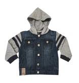 Boboli Hooded Denim Jacket