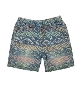 Boboli Aztec Print Shorts